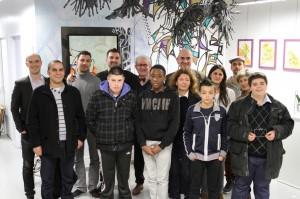 Rezo et les jeunes de Saint Roch -Apprentis d'Auteuil