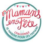 logo challenge je marche pour les mamans