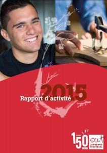 couverture rapport activité 2015