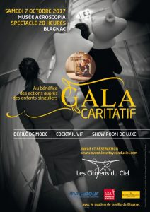 Gala caritatif Citoyens du Ciel