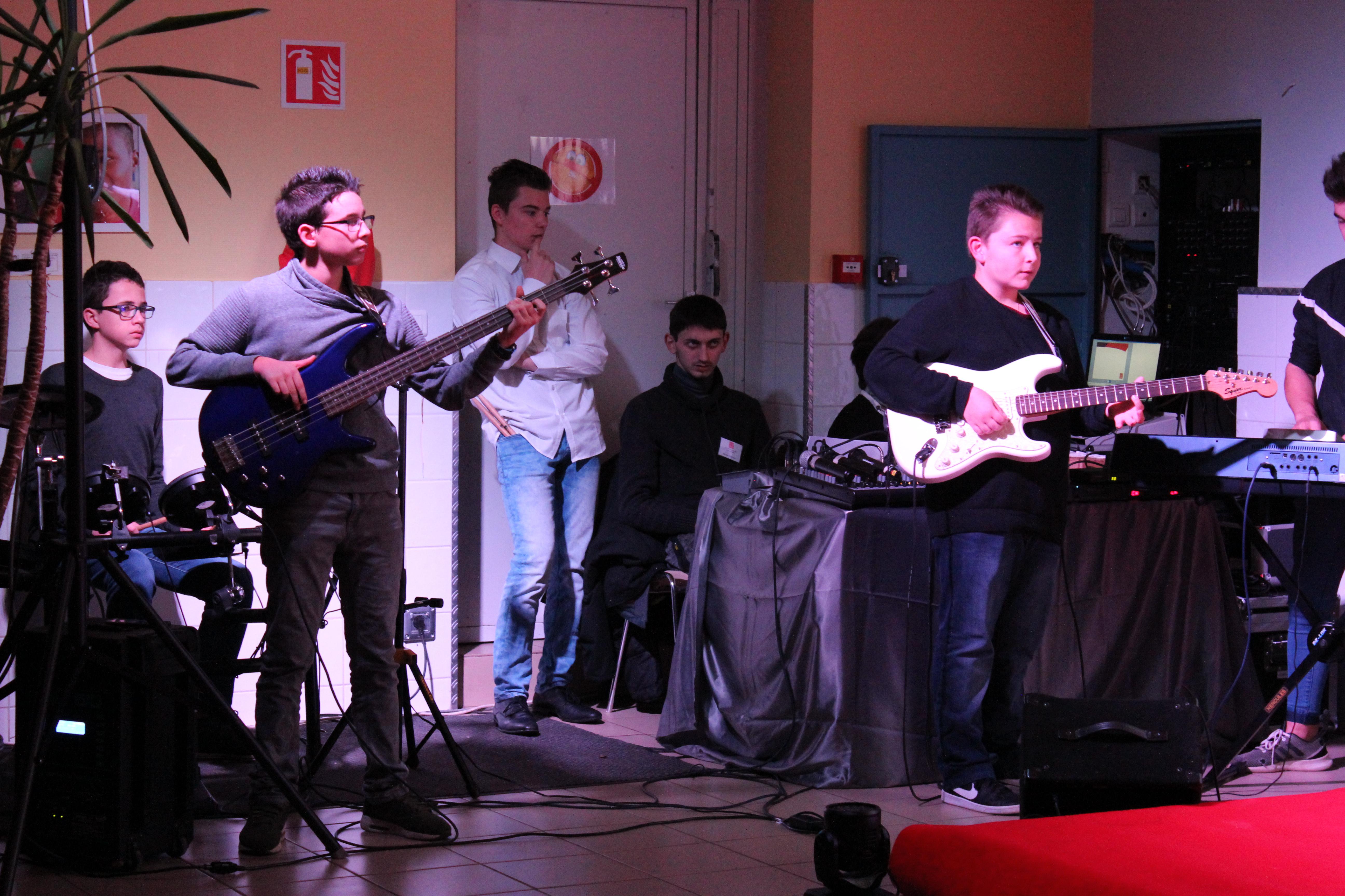 Les musiciens de Saint-Joseph