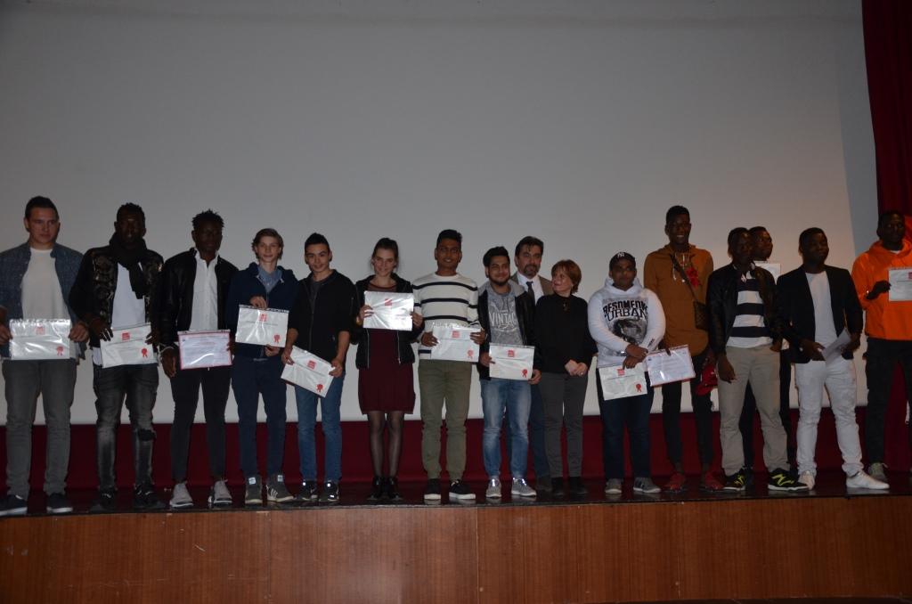 Les diplômés de la MECS de l'Ange gardien