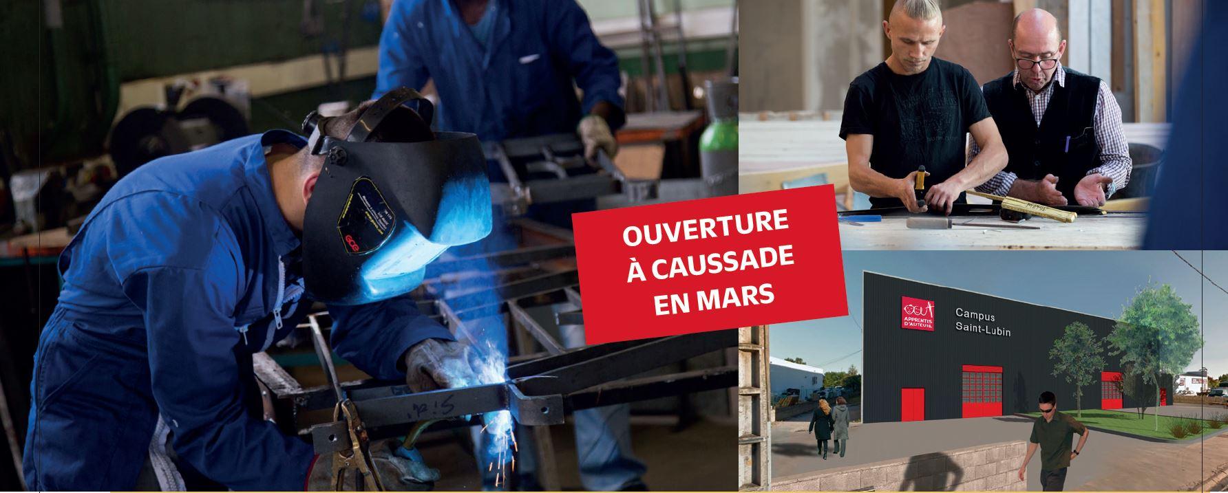 Ouverture du Campus à Caussade